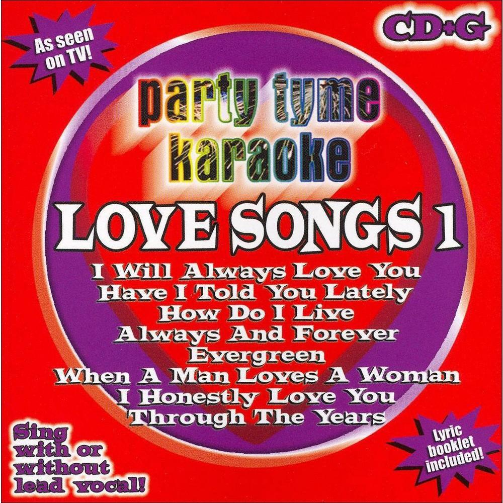 Party tyme karaoke - Love songs 1 (CD)