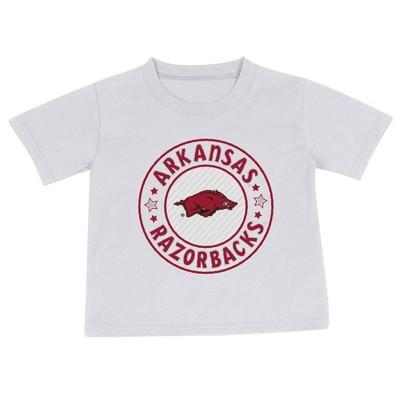 NCAA Arkansas Razorbacks Toddler Boys' 2pk Short Sleeve T-Shirt