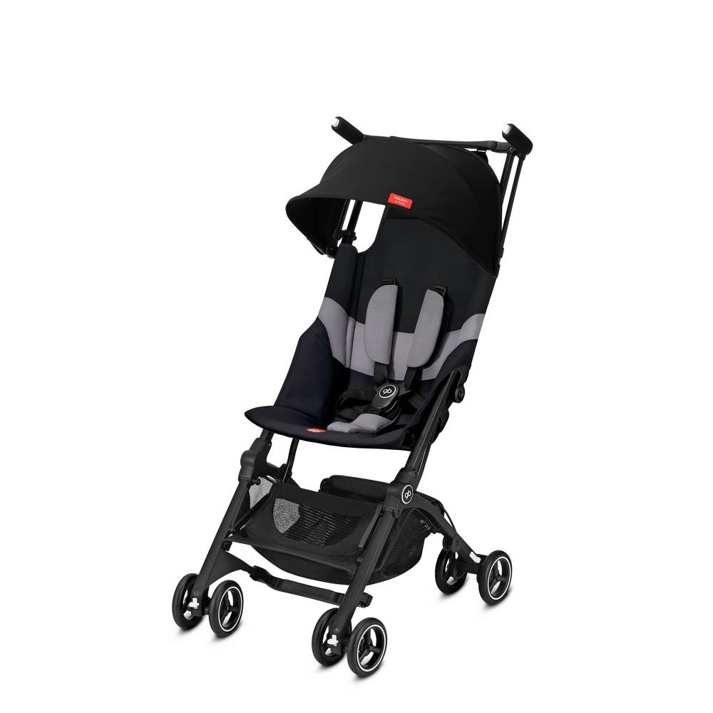 Image of Goodbaby Pockit + All Terrain Stroller Velvet, Black