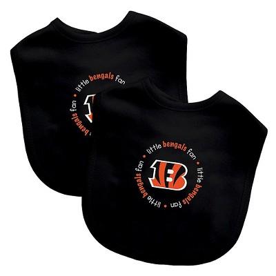 Cincinnati Bengals Baby Fanatic Bibs - 2 Pack
