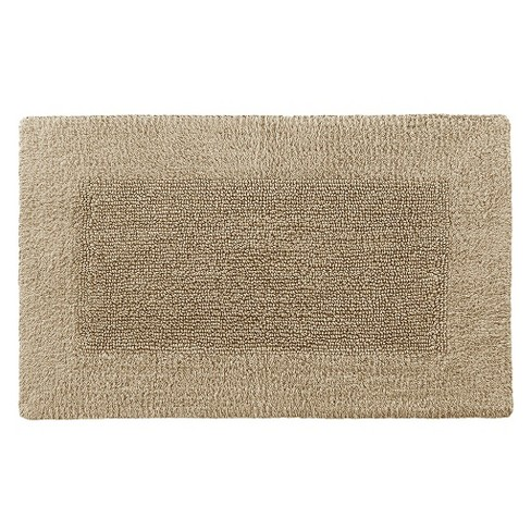 Kassatex Rayon Made from Bamboo Reversible Bath Rug - Sandstone (21x34) - image 1 of 1