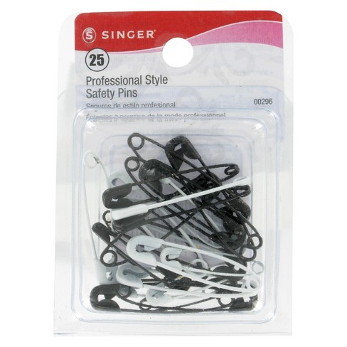 Singer Black & White Safety Pins - image 1 of 1