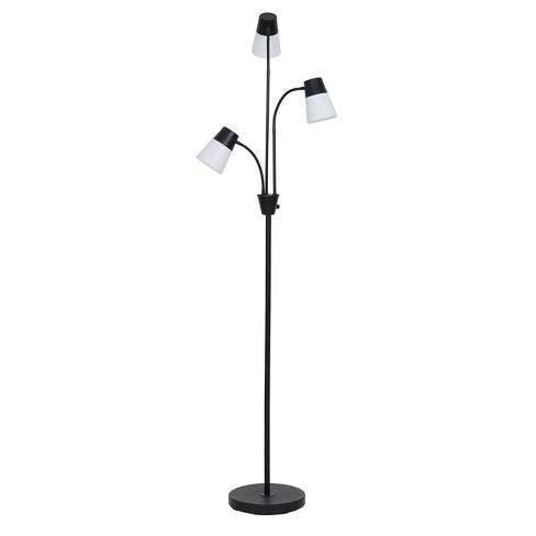 Essentials™ LED Floor Head Light BulbRoom Three Lamp BlackIncludes Energy Efficient vN8n0ywOm