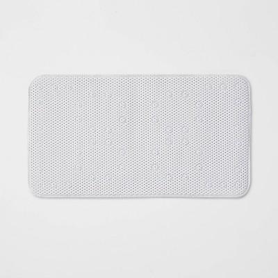 Small Cushion Bath Mat White - Room Essentials™