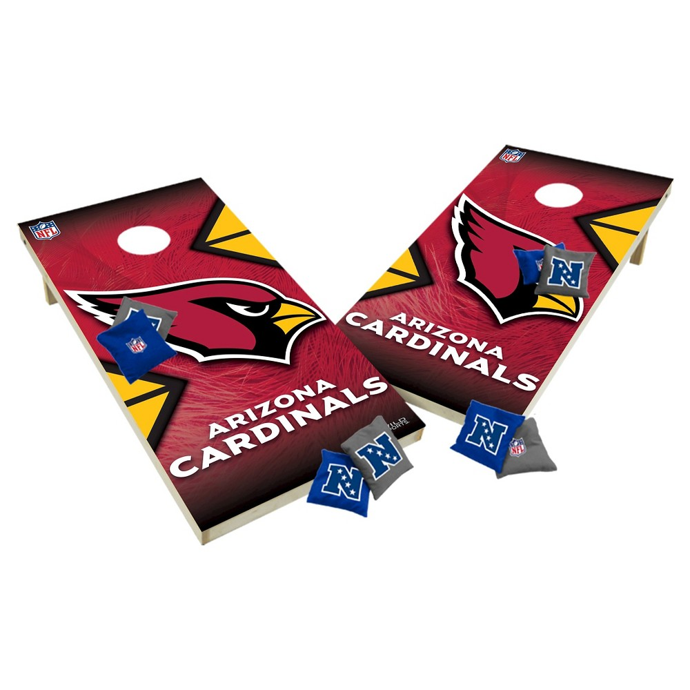 NFL Arizona Cardinals Wild Sports Tailgate Toss 2x4 Platinum Shield