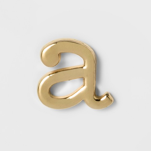 dfd4e0de7d6 Women's Fashion Stick On Pin Letter