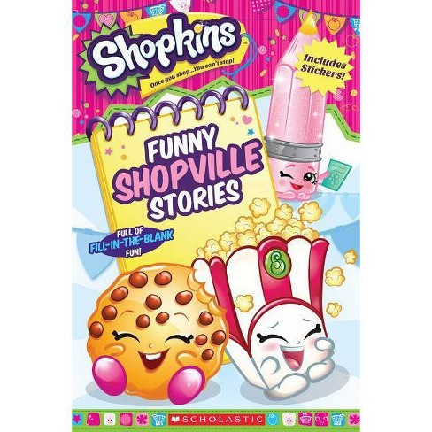 Funny Shopville Stories by Scholastic Inc. - Shopkins (Paperback) by Sam Mcmahan - image 1 of 1