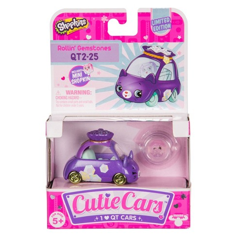 Cutie Cars Shopkins Single Pack - Limited Edition Rollin Gemstones - image 1 of 2