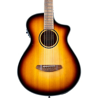 Breedlove Discovery S CE Red cedar-African Mahogany Concertina Acoustic-Electric Guitar Edge Burst