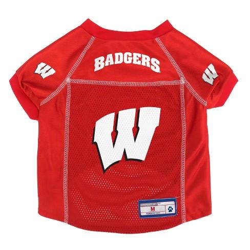 NCAA Little Earth Pet Football Jersey - Wisconsin Badgers  - image 1 of 3