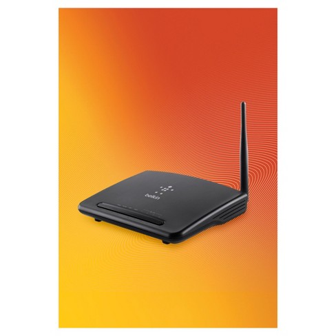 Belkin N150 Easy Setup Wi-Fi Router, Ideal for Web Surfing & Email (F9K1009)