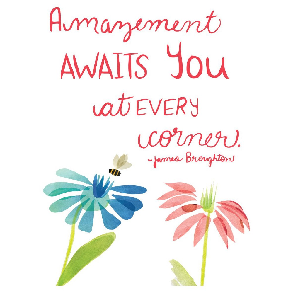 Image of Amazement Awatis Wall Decal - Black, Multi-Colored