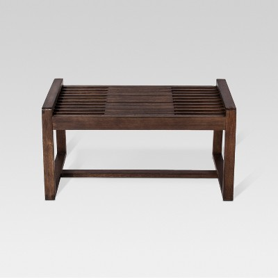 Walnut Slat Bench - Project 62™