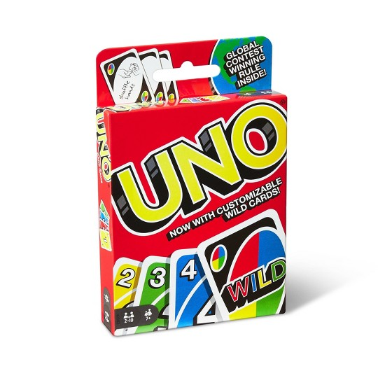 UNO Card Game, Kids Unisex image number null