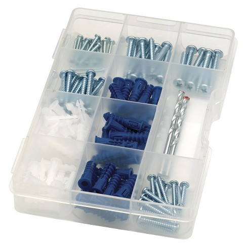 Liberty Drywall drill Bit Screw and Anchor Hardware Fastener Kit - image 1 of 4