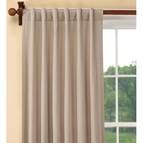 Energy-Efficient Double-Lined Window Curtain Panel - Plow & Hearth - image 1 of 1