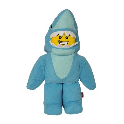 The Manhattan Toy Company LEGO Minifigure Shark Suit Guy Plush Character