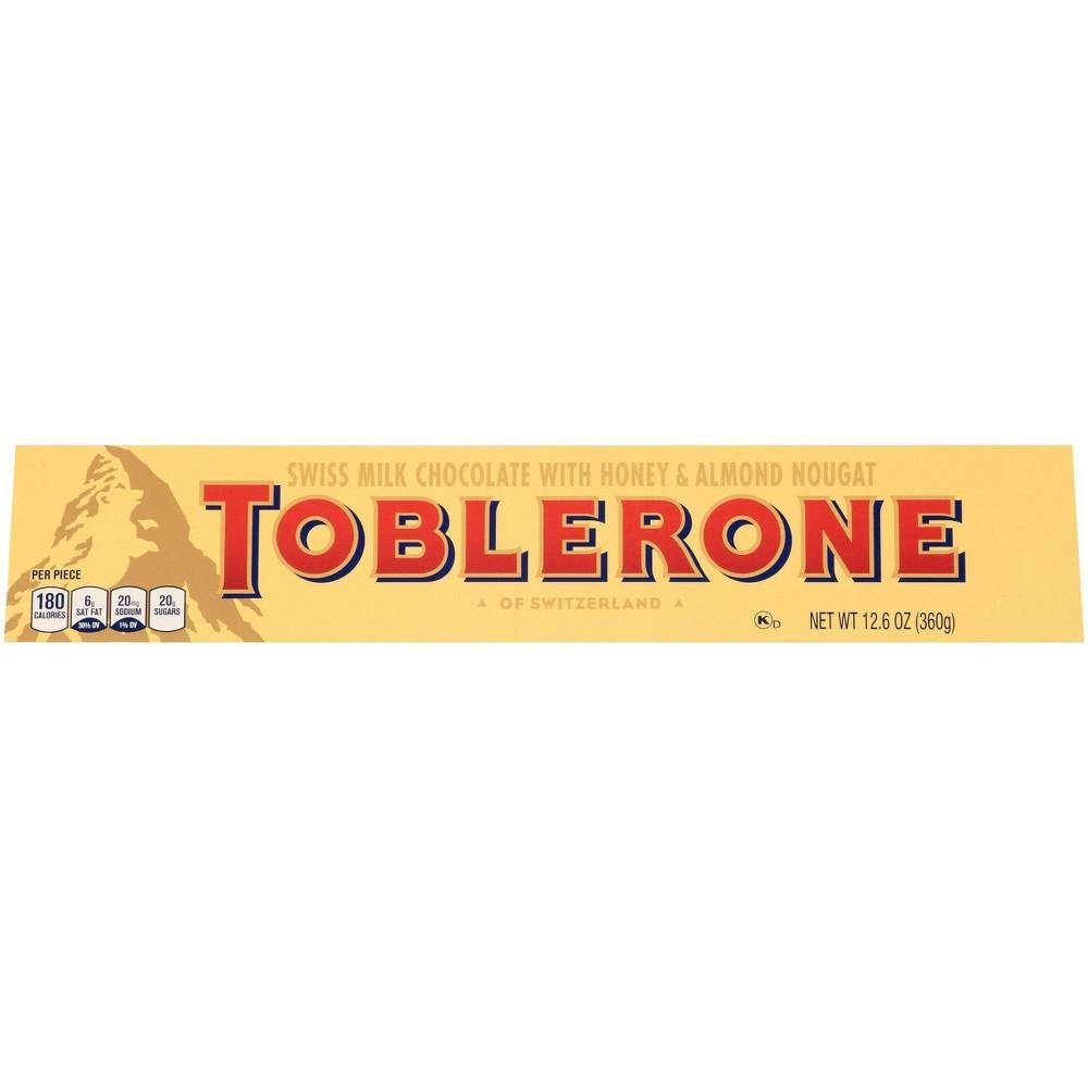 Toblerone Swiss Milk Chocolate Candy Bar 12 6oz