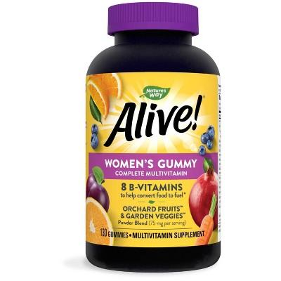 Nature's Way Alive! Women's Multivitamin Gummies - Fruit