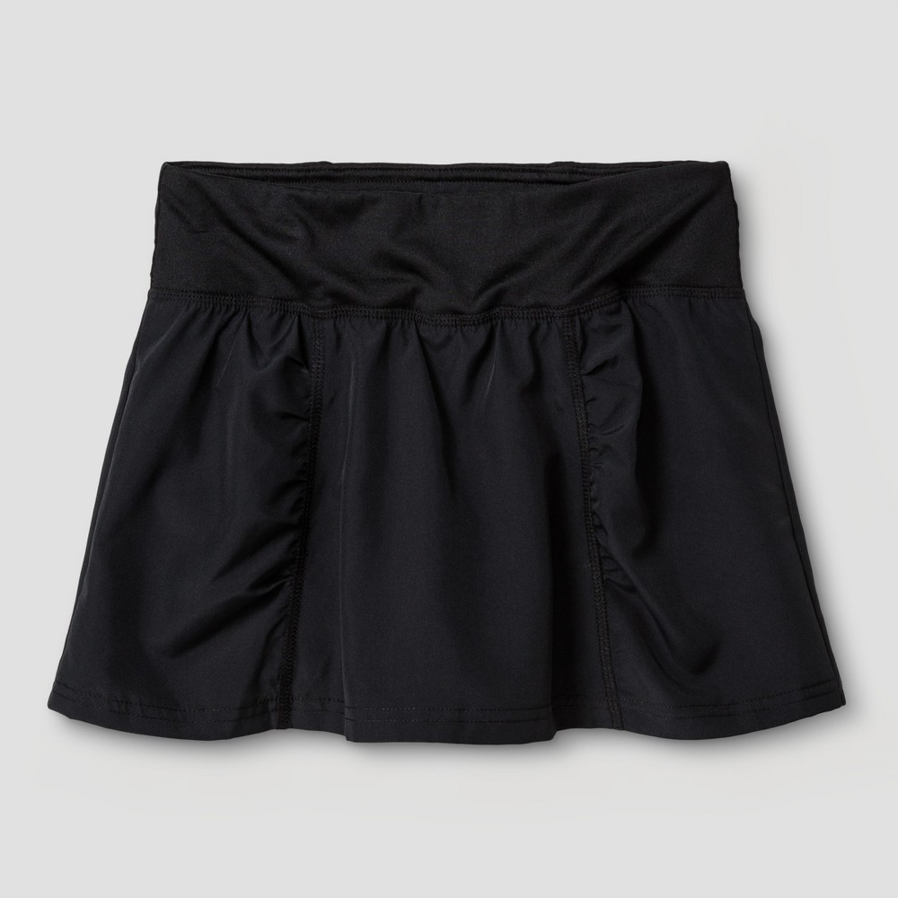 Image of Girls' Woven Skort - C9 Champion Black XL, Girl's