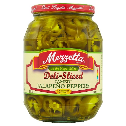 Mezzetta® DeliSliced Tamed™ Jalapeno Peppers - 32oz - image 1 of 1