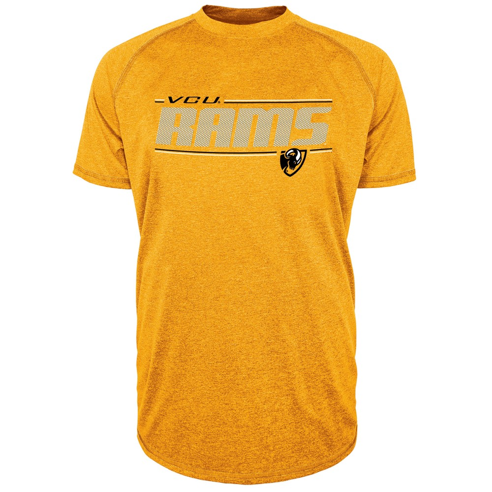 Vcu Rams Men's Team Speed Poly Performance T-Shirt M, Multicolored