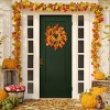 """24"""" Maple Leaf and Berry Wreath - National Tree Company - image 2 of 2"""