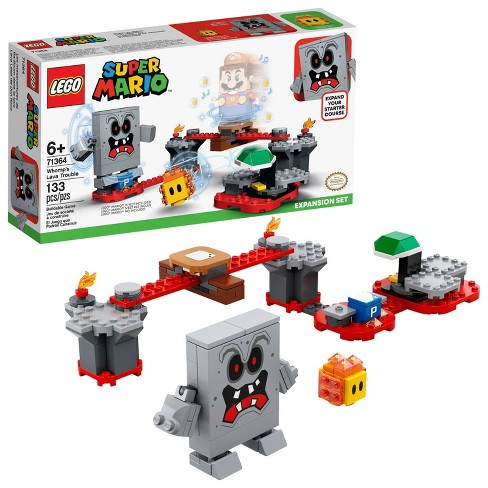 LEGO Super Mario Whomp's Lava Trouble Expansion Set Building Toy for Creative Kids 71364 - image 1 of 4