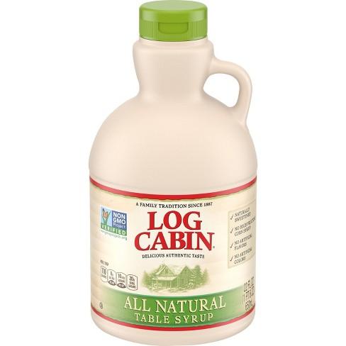 Log Cabin All Natural Syrup - 22 fl oz - image 1 of 3