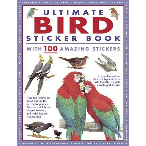 Ultimate Bird Sticker Book - (Paperback) - image 1 of 1
