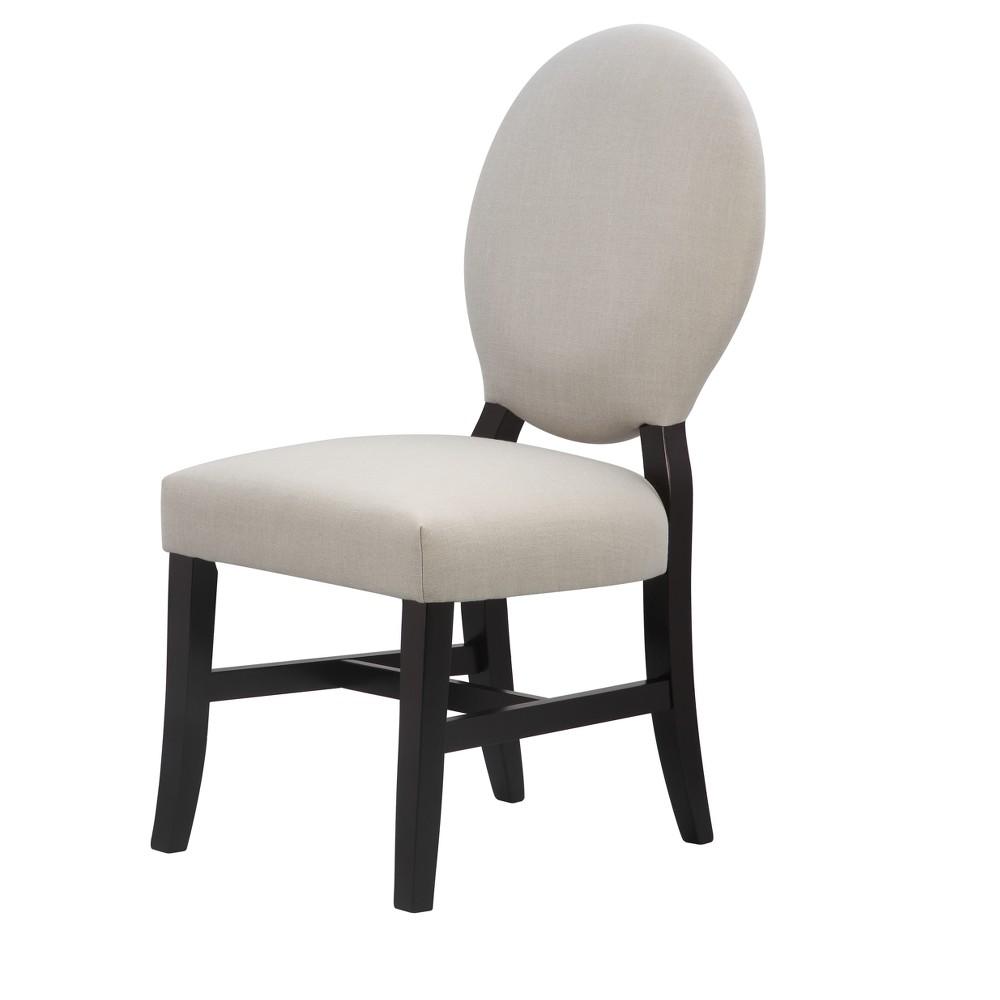 Julie Upholstered Chair - Black - International Concepts