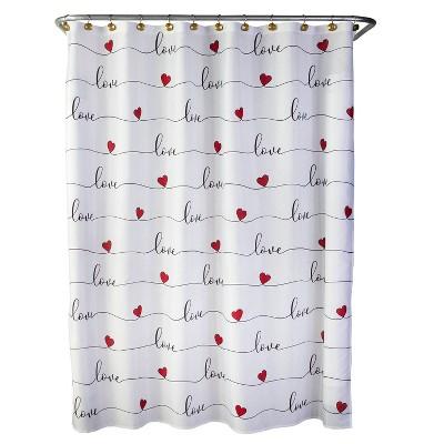 Love Script Shower Curtain - SKL Home