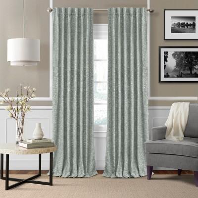 Colton Woven Room Darkening Window Curtain Panel - Elrene Home Fashions