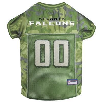 NFL Atlanta Falcons Pets First Camo Pet Football Jersey - Camo XS