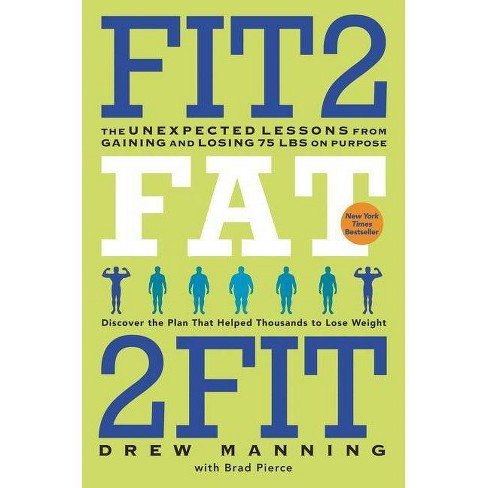 Fit2fat2fit - by  Drew Manning & Bradley Ryan Pierce (Paperback) - image 1 of 1