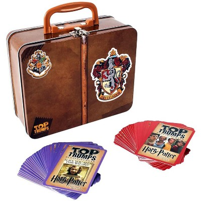 Top Trumps Harry Potter Gryffindor Top Trumps Card Game Collector Tin 2-Pack Bundle