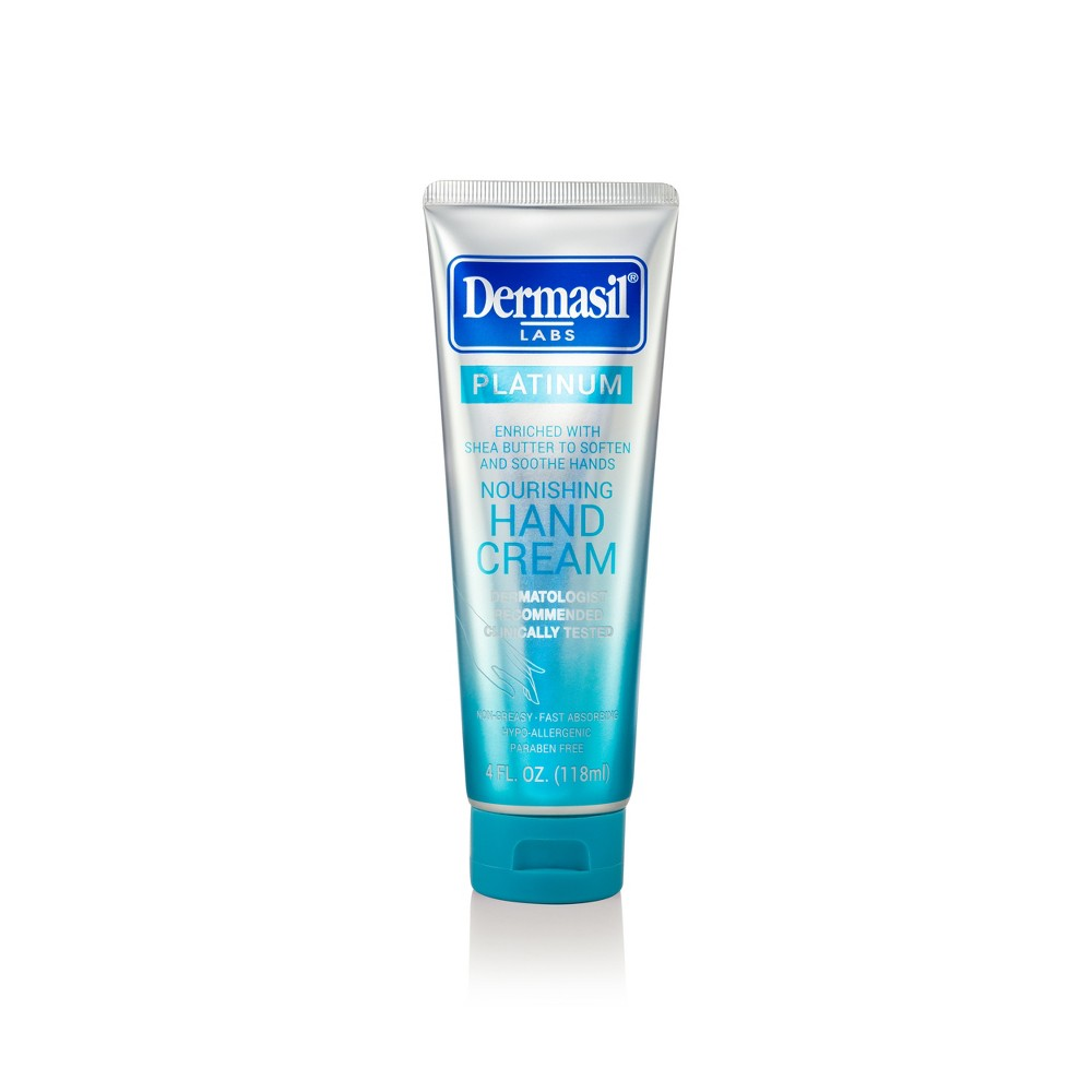 Image of Dermasil Platinum All Day Nourishing Hand Cream - 4 fl oz