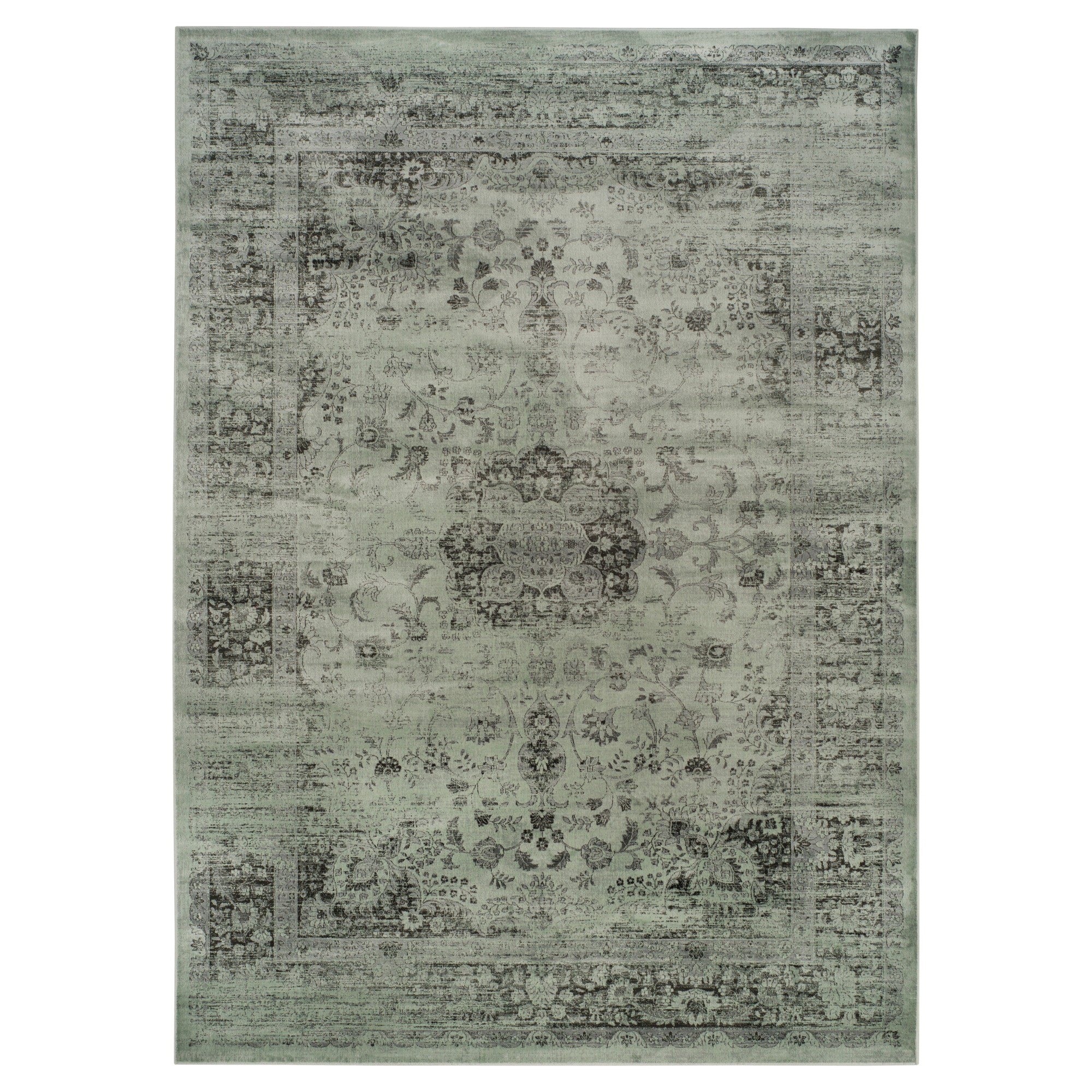 Simon Vintage Area Rug -Green (9'x12') - Safavieh, Green