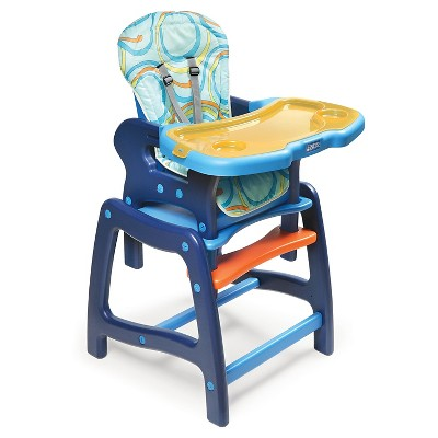 Badger Basket Baby High Chair with Playtable Conversion