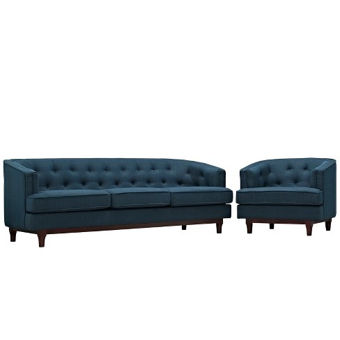 Coast Living Room Set Set of 2 - Modway - image 1 of 6