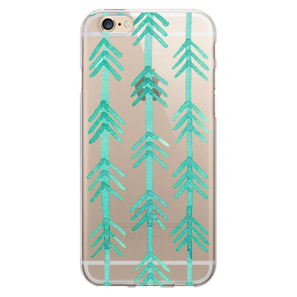 iPhone 6/6S Case - Otm Artist Prints Clear - Hunter Turquoise