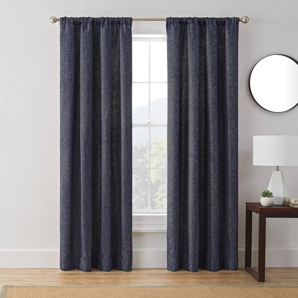 "Discounts 63""x50"" Troy Room Darkening Window Curtain Panel  - Brookstone"
