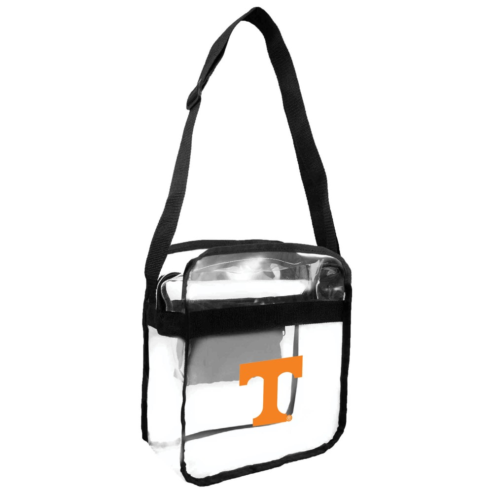 NCAA Tennessee Volunteers Little Earth Clear Carryall Cross Body Bag, Girl's