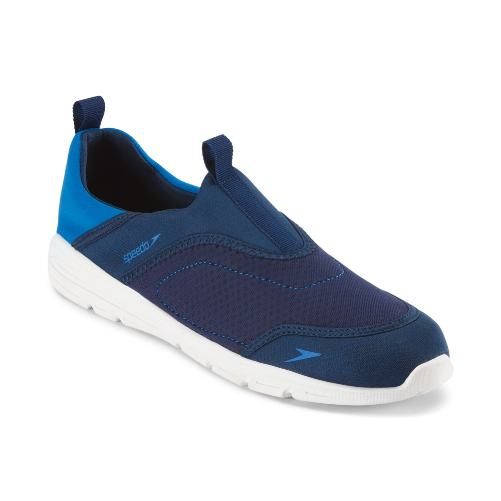Speedo Adult Men's Aquaskimmer Water Shoes - Navy (Small), Blue