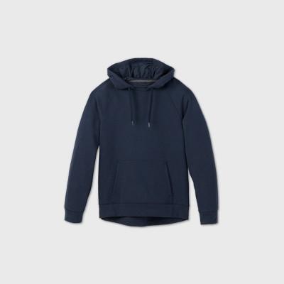 Men's Fleece Pullover Hoodie Sweatshirt - All in Motion™ Navy XXL