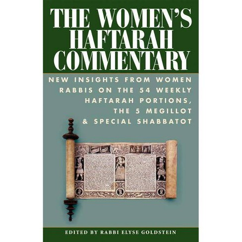 The Women's Haftarah Commentary - (Paperback) - image 1 of 1