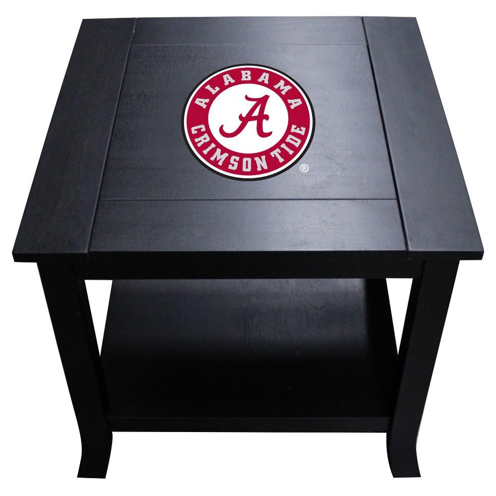 NCAA Imperial Side Table Alabama Crimson Tide