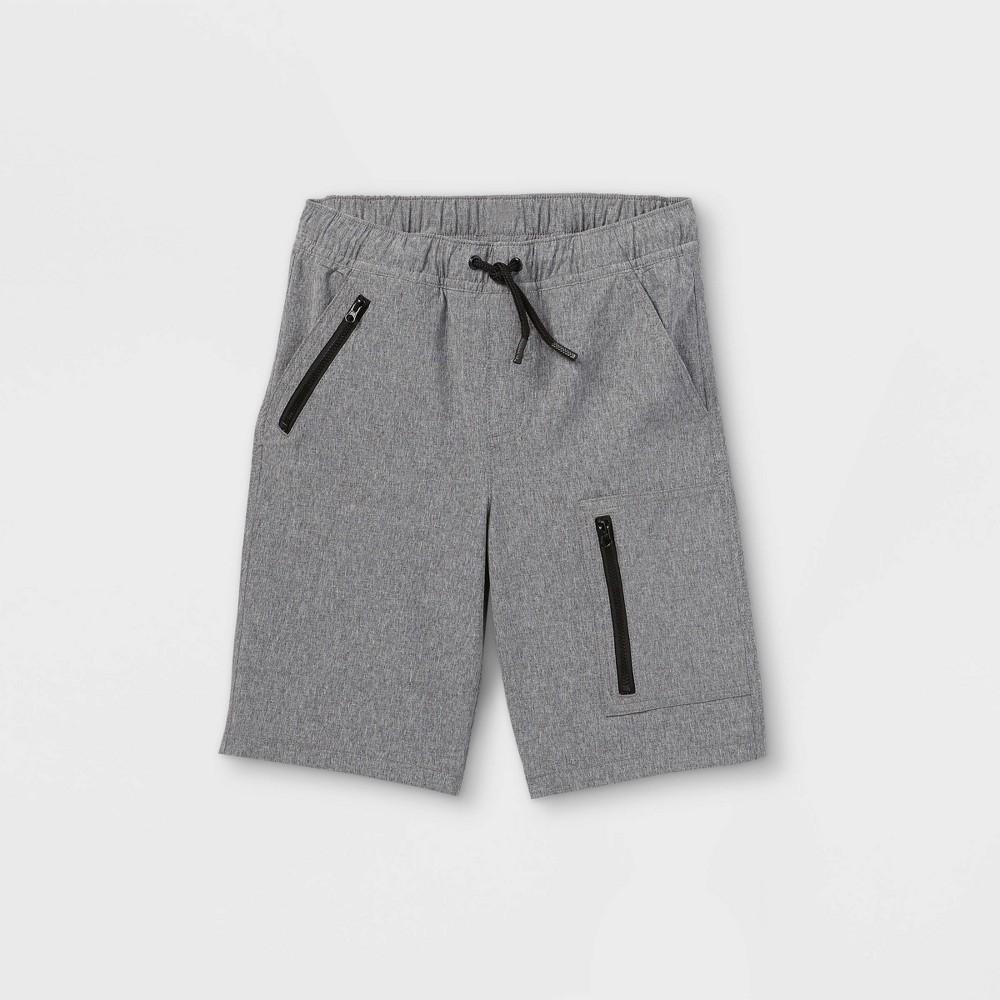 Boys 39 Quick Dry Pull On Shorts Cat 38 Jack 8482 Gray S