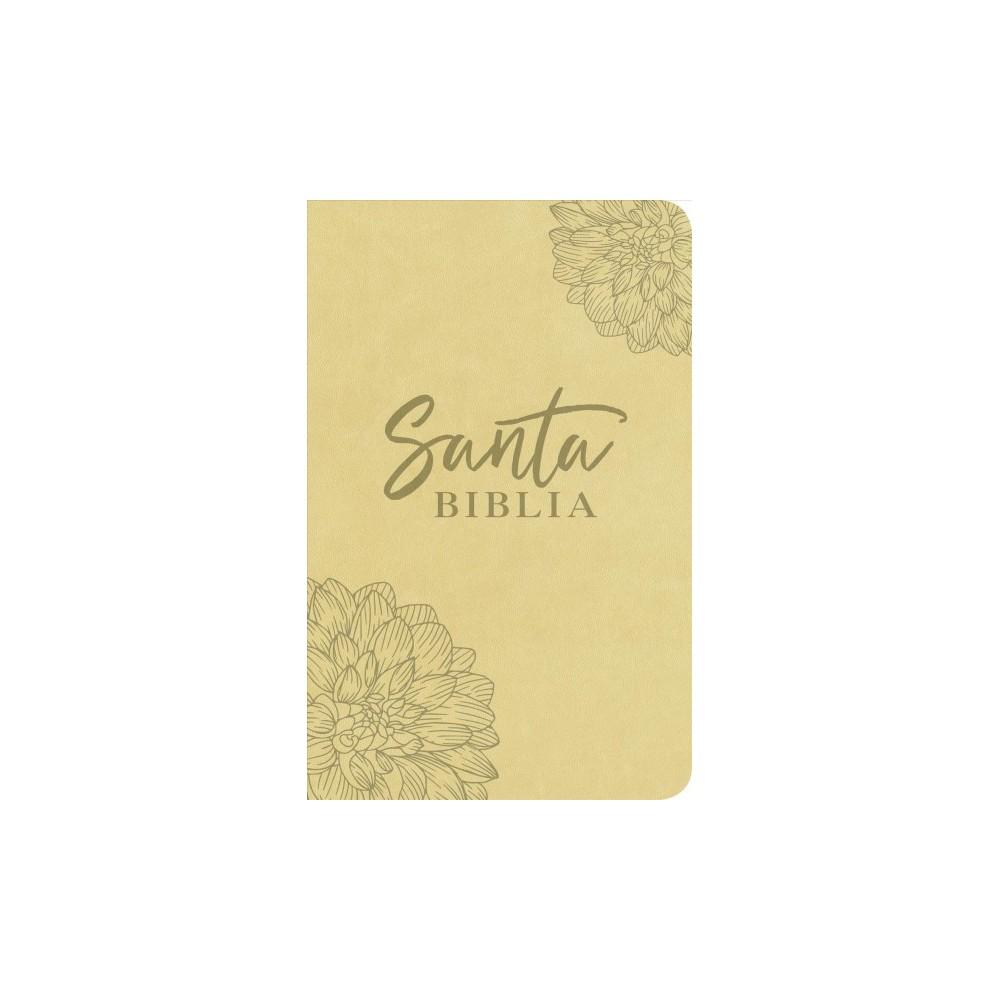 Santa Biblia / Holy Bible : Nueva Traduccion Viviente, Edición Ágape, SentiPiel Flor - (Paperback)