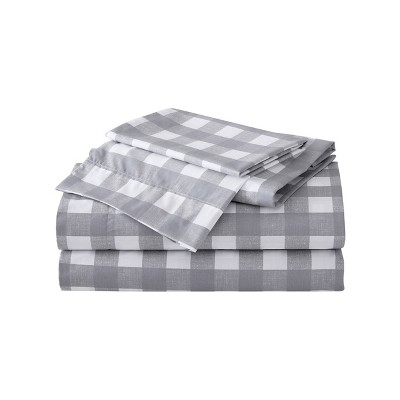 Printed Pattern Percale Cotton Sheet Set - Eddie Bauer